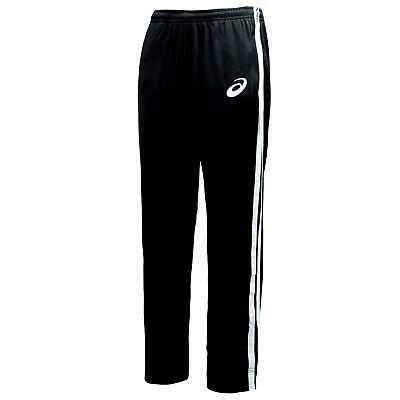 Asics Mens Essential Training Track Pants Open Hem Joggers Black 132758 0904