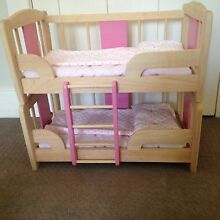 Dolls bunk beds, ladder & bedding Lane Cove North Lane Cove Area Preview