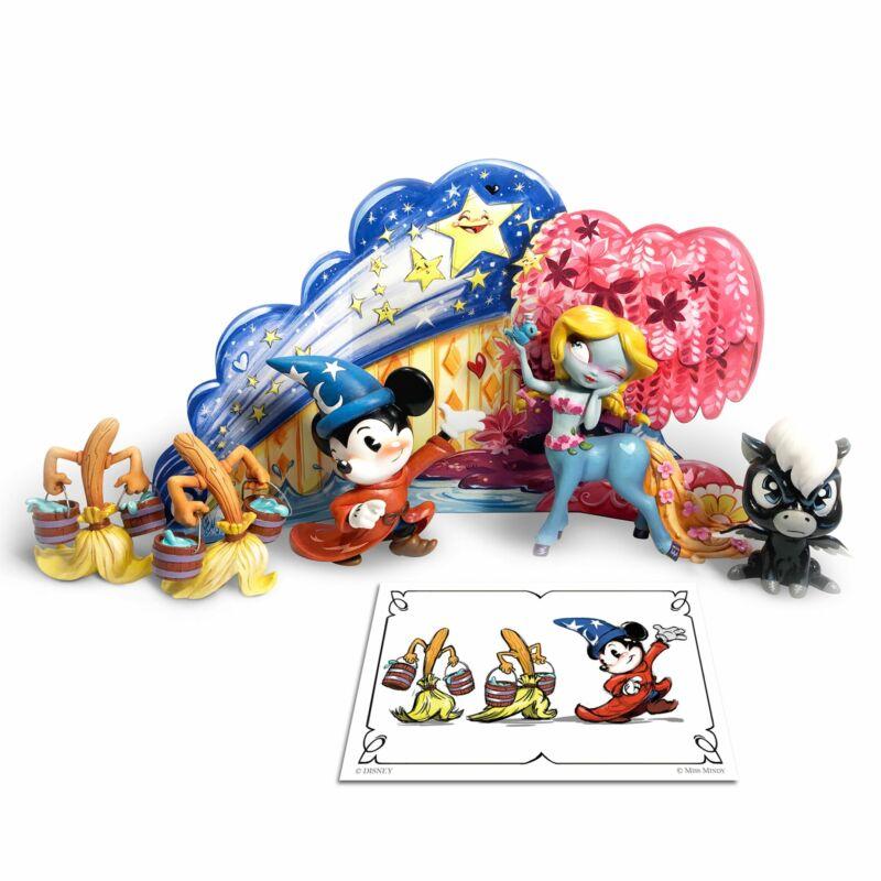Enesco World of Miss Mindy Disney Fantasia Limited Edition Figurine Set
