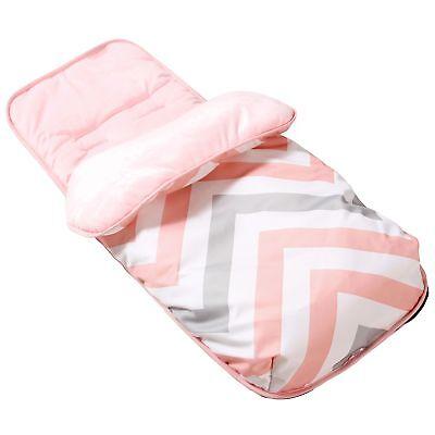 My Babiie Cosytoes Baby Pram / Stroller / Pushchair Footmuff - Pink Chevron