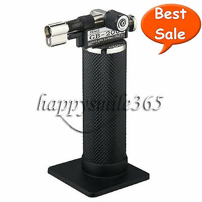 New Upgraded Piezo Gas Burner Dental Lab Micro Torch Lighter Soldering Welder