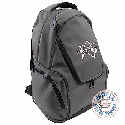 NEW Prodigy Discs BP-3 Small Backpack Disc Golf Bag - GRAY
