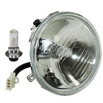 Headlight W/Halogen Bulb for Yamaha Wolverine 350 YFM350FX 4X4 1995-1999