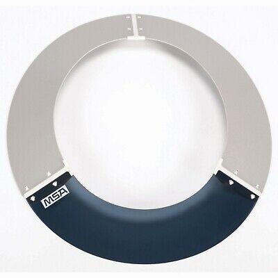 MSA V-Gard Hard Hat Sun Shield, Gray, 697410, New, Free Shipping