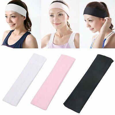 Soft Stretch Headbands Yoga Softball Sports Hair Band Wrap Sweatband Head Clothing, Shoes & Accessories
