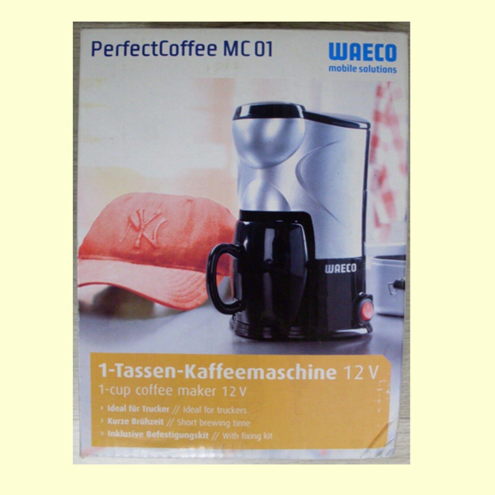12V 12 Volt WAECO 1 Tassen Kaffeemaschine MC-01-12 PerfectCoffee Pkw