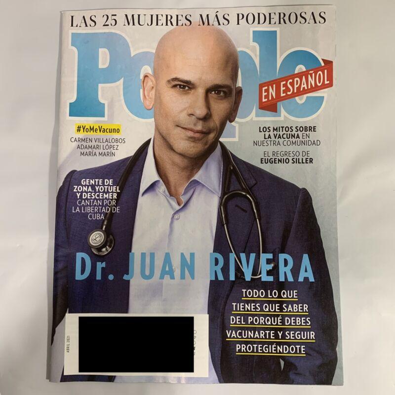 People En Espanol Magazine April 2021 Dr Juan Rivera Carmen Villalobos