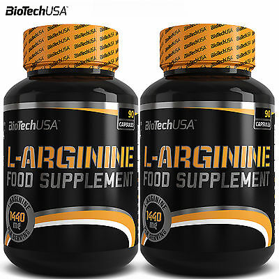 L-Arginine 90/180 Capsules Muscle Pump Nitric Oxide Muscle Growth HIGH DOSE !!!