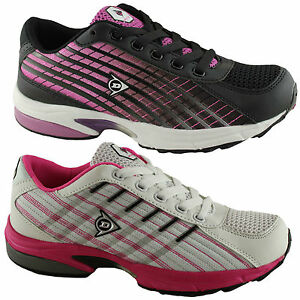 DUNLOP-CF-ACTIVE-W-LADIES-WOMENS-SHOES-RUNNERS-SNEAKERS-ATHLETIC-WALKING-SPORTS