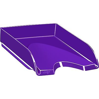 Cep Letter Tray Stackable 10-110wx13-710lx2-35l Purple 1002000321