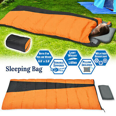 Bluefield Envelope Type Fleece Lazy Bag Laybag Comfortable Sleeping Bag Camping Sofa Sleeping Beach Bed For Outdoor Activity Durable Service Camping & Hiking