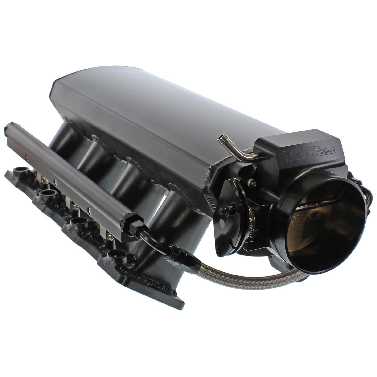 Ls Lsx Ls1 Ls2 Ls6 Fabricated Intake Manifold Kit Throttle