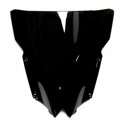 DOUBLE BUBBLE RACING WINDSCREEN SCREEN BLACK <em>YAMAHA</em> YZF R6 08 16