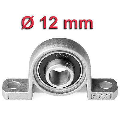 Miniatur Stehlager für Ø 12mm Welle | Kugellager Pendellager Gehäuselager