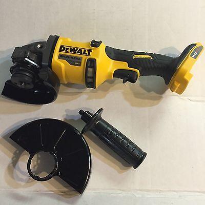 "Dewalt 60 volt max Lithium Brushless Flex volt DCG414 4 1/2-6"" angle grinder New"