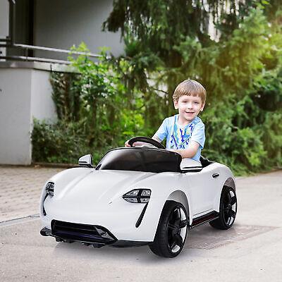 HOMCOM Coche Eléctrico Automóviles para Niños 3-8 Años con Control Remoto MP3