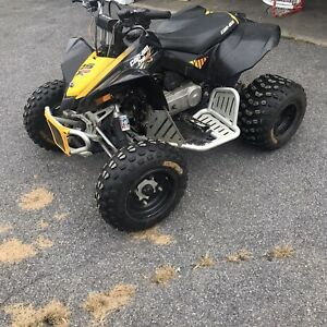 2008 can am ds80x
