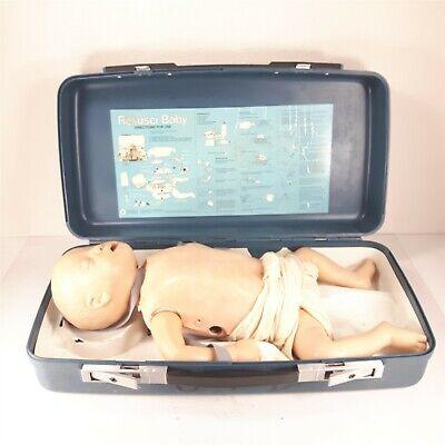 Laerdal Resusci Baby Anne Manikin Airway Cpr Emt Infant Nursing Patient Training