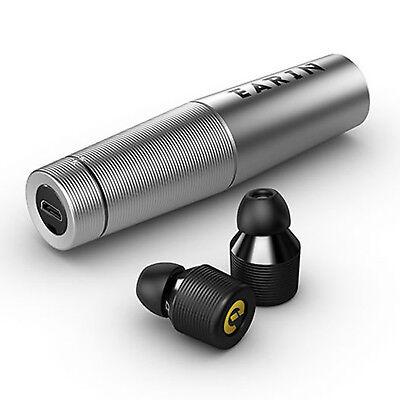 EARIN M-1 True Wireless Earbuds Bluetooth In-ear Earphones Silver Headphones New