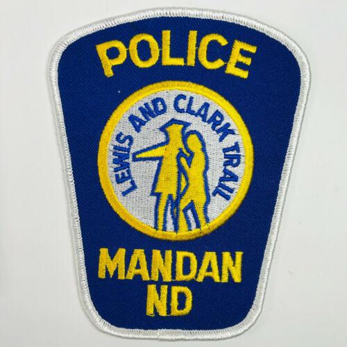 Mandan Police Lewis and Clark Trail North Dakota Patch