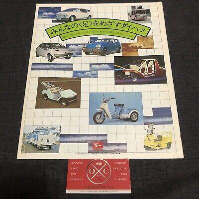 Vintage Daihatsu Brochure Catalog JDM Fellow Max Cuore Charade Taft 74 75 76 77 segunda mano  Embacar hacia Argentina