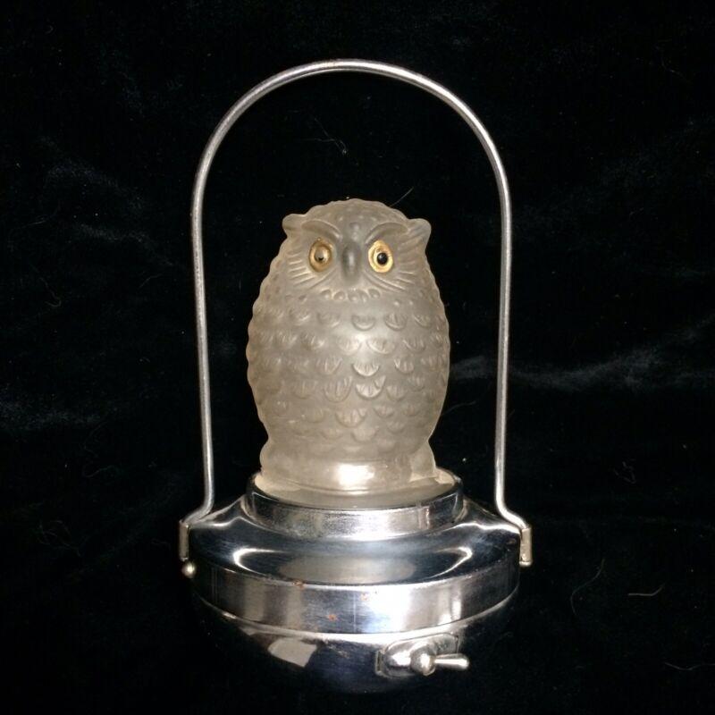Antique Owl Halloween Lantern