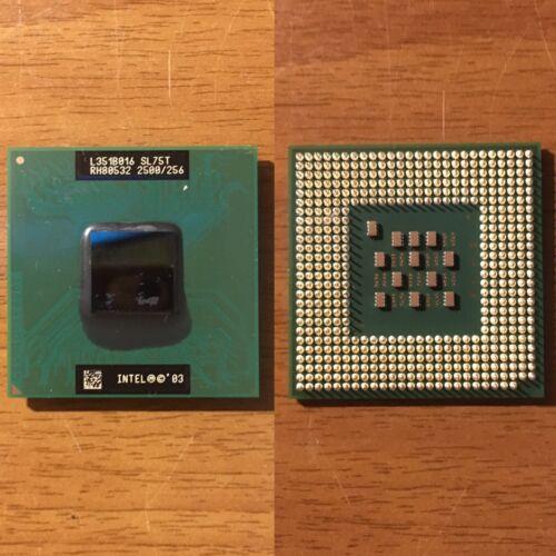 Intel Mobile Celeron CPU SL75T 2. 5 GHz/256KB/400MHz Supporto/Presa 478 mPGA478B