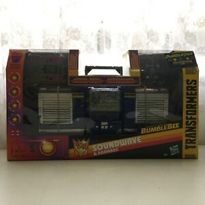 Transformers Bumblebee leader class Soundwave and Doombox Rosebery Inner Sydney Preview
