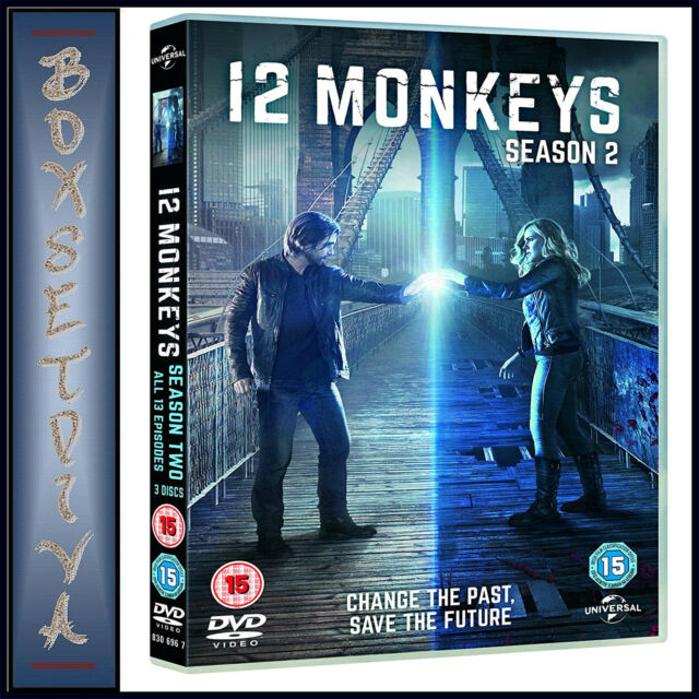 12 MONKEYS - COMPLETE SEASON 2  *BRAND NEW DVD **
