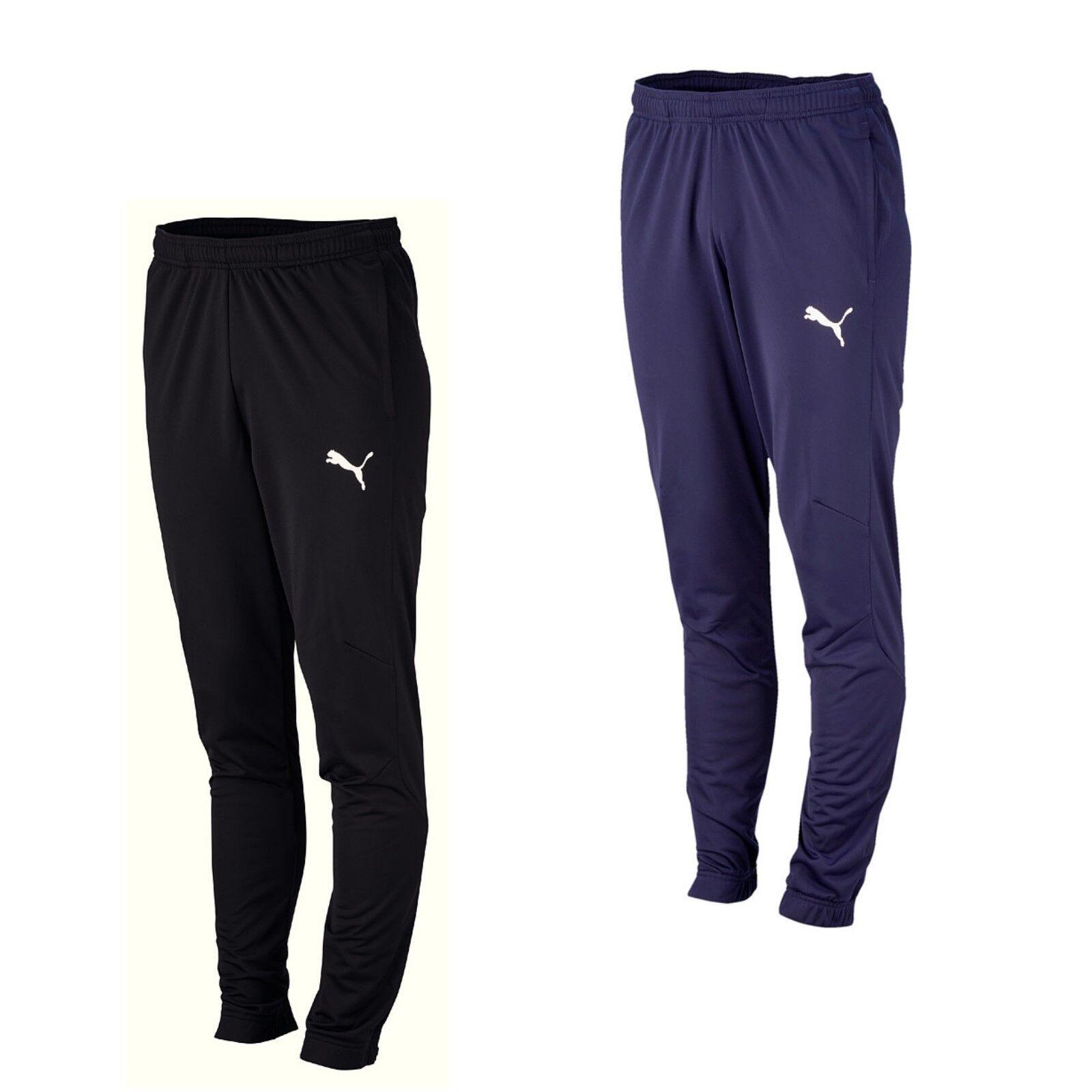 Puma Jogginghosen Hose Herren Trainingshose Sporthose schwarz blau lang Männer