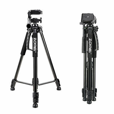 Portable Aluminum Travel Tripod pan head for Canon Nikon Sony DSLR Camera
