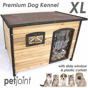 Big Dog Kennel Large Wooden Pet House Outdoor Indoor Home Timber Campbellfield Hume Area Preview