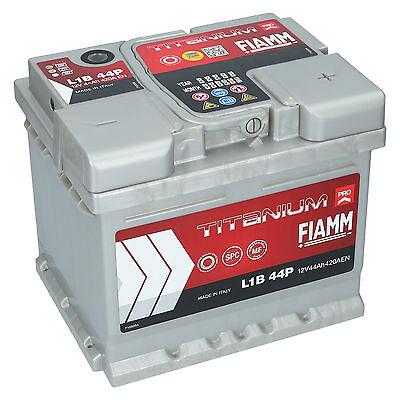 Autobatterie 12V 44Ah 420A EN FIAMM PRO Premium Batterie ersetzt 40 42 45 46 Ah 420a Batterie