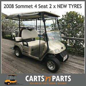 SOMMET 2008 Golf Cart Buggy–Full set of Rain Covers 2 x NEW TYRES Hope Island Gold Coast North Preview