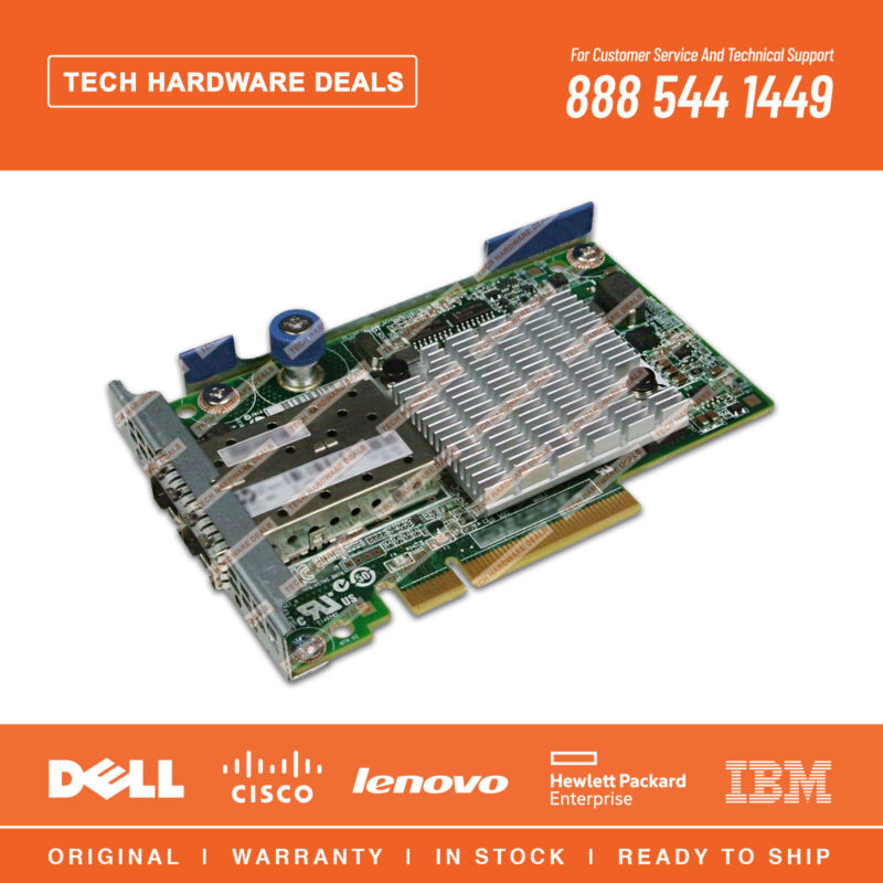 701531-001  REF HP FlexFabric 10Gb 2-port 534FLR-SFP+ Adapter