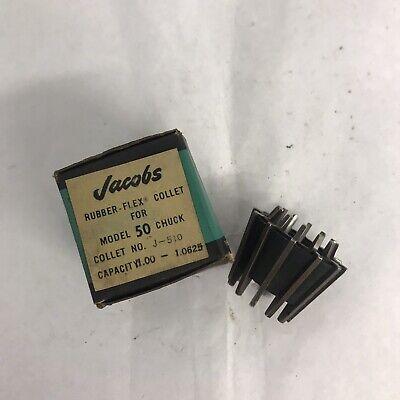 Jacobs J-510 Rubber-flex Collet Model 50 Capacity 1.00-1.0625