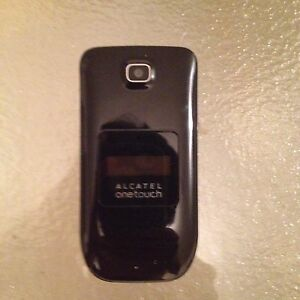Alcatel Flip Phone + charger
