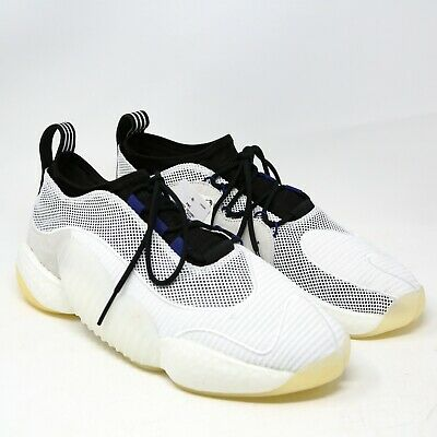 adidas Crazy BYW LVL II 2 Low Boost You Wear AQ1183 White Black Purple 8 Retro