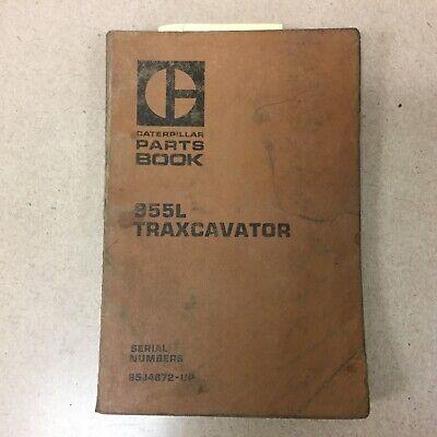 Cat Caterpillar 955l Parts Manual Book Catalog Traxcavator Loader Sn 85j467 Up