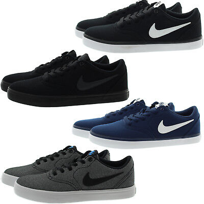 Nike 843896 Mens Skateboarding Check Solar Canvas Low Top Skate Shoes Sneakers