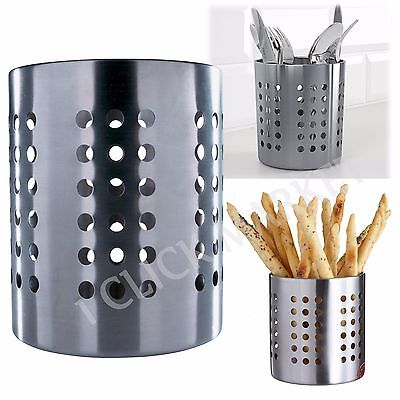 FLATWARE CUTLERY STORAGE Utensil Silverware Caddy Dryer Organizer Knive Holder