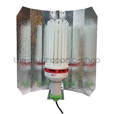 Omega CFL 300W Dual Spectrum Bulb Euro Shade Light Kit Hydroponics