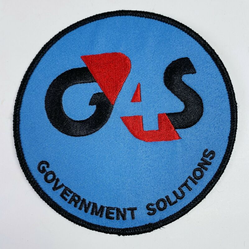 G4S Government Solutions Security Kingsport Tennessee TN Patch (A1)