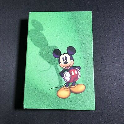 Disney Store Mickey Mouse Planner Organizer Binder 8 X 5 Green Never Used