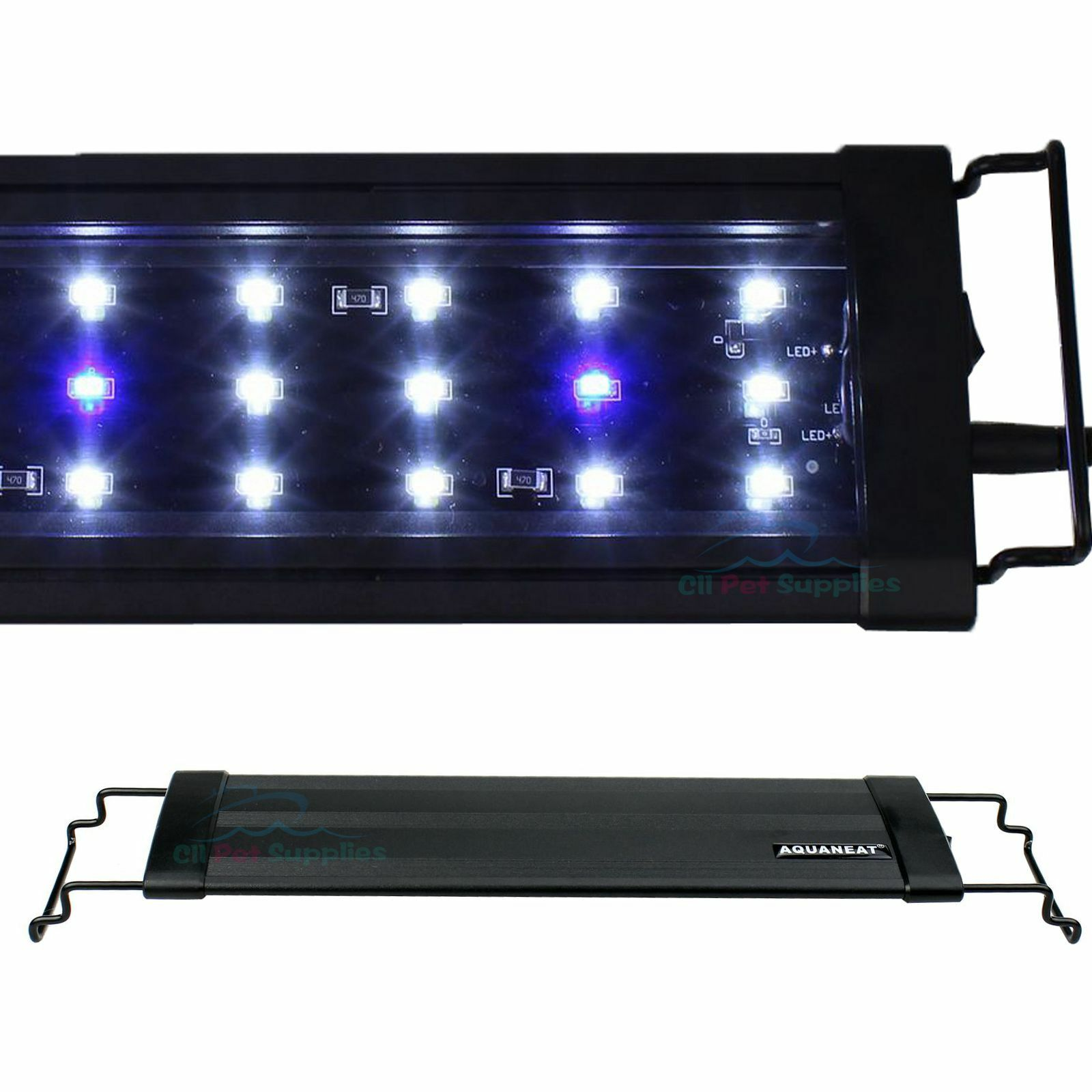 "0.5W LED Light 12""/18""/24""/30""/36""/48""/72"" Aquarium Marine FOWLR Blue & White"