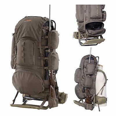 external freighter frame backpack large hunting hiking camping travel pack bag
