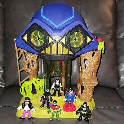 Fisher Price Imaginext DC Friends Hall Of Doom Playset Bane Penguin Superman