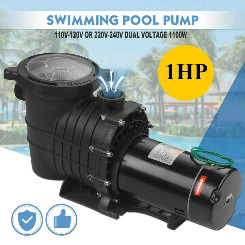 1HP Hayward Generic In-Ground Swimming Pool Pump Motor Strai