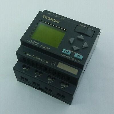 Siemens Logo 6ed1 052-1fb00-0ba1 Industrial Control System Tested