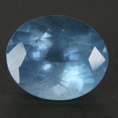 7.22Cts Ravishing Natural Blue Color Unheated Aquamarine Oval Cut Ref VIDEO